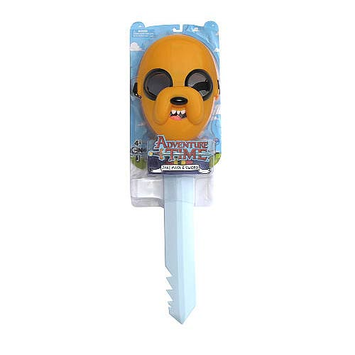Adventure Time 21-Inch Jake's Sword with Mask