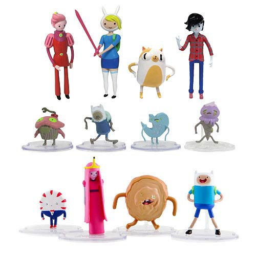 Adventure Time 2 Inch Deluxe Action Figure 2 Pack Set
