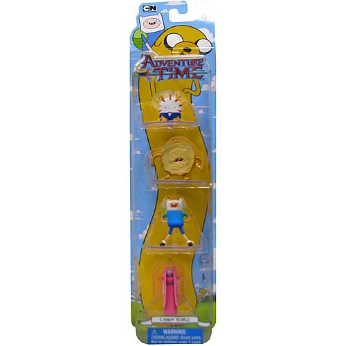 Adventure Time 2-Inch Deluxe Candy People Action Figures