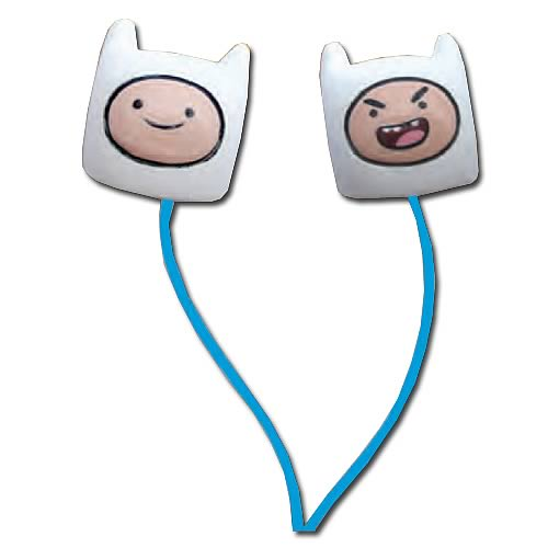 Adventure Time Finn Ear Bud Headphones