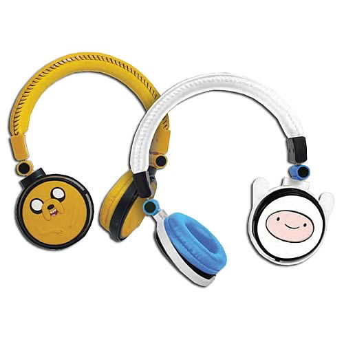Adventure Time Fold-Up Stereo Headphones Case