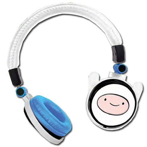 Adventure Time Finn Fold-Up Stereo Headphones