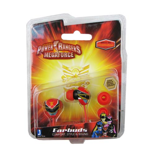 Power Rangers Megaforce Ear Bud Headphones