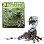 Minecraft Population Spider Jockey Action Figure Set