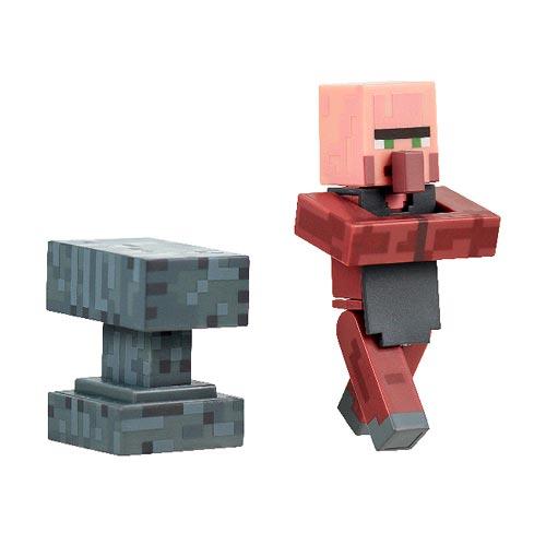 Minecraft Blacksmith Villager Pack 3-Inch Action Figure