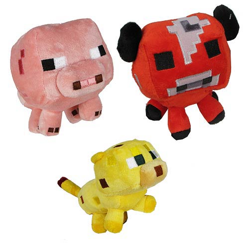Minecraft Baby Animal 7-Inch Plush Case