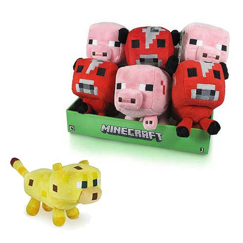 Minecraft Animal Plush Wave 2 Case