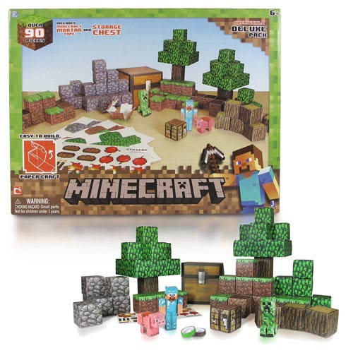 Minecraft Papercraft Overworld