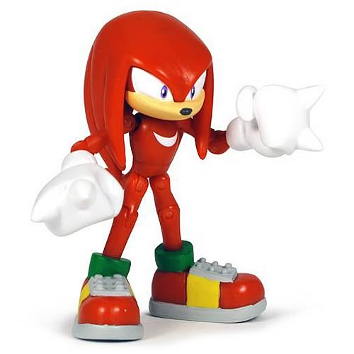 Sonic the Hedgehog 3 3/4-Inch Knuckles Action Figure