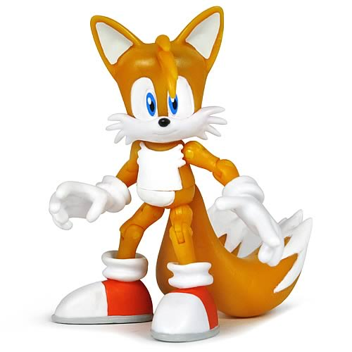 Sonic the Hedgehog 3 3/4-Inch Tails Action Figure