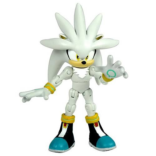 Sonic the Hedgehog 3 3/4-Inch Silver Action Figure