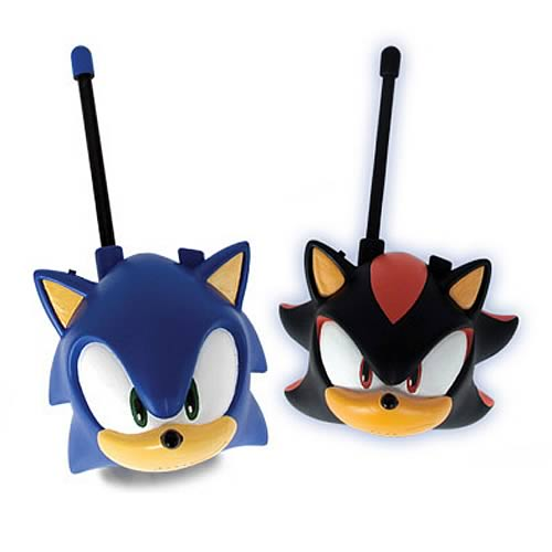 Sonic the Hedgehog Electronic Walkie Talkies