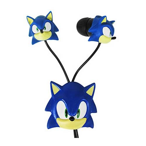 Sonic the Hedgehog Electronic Earbuds