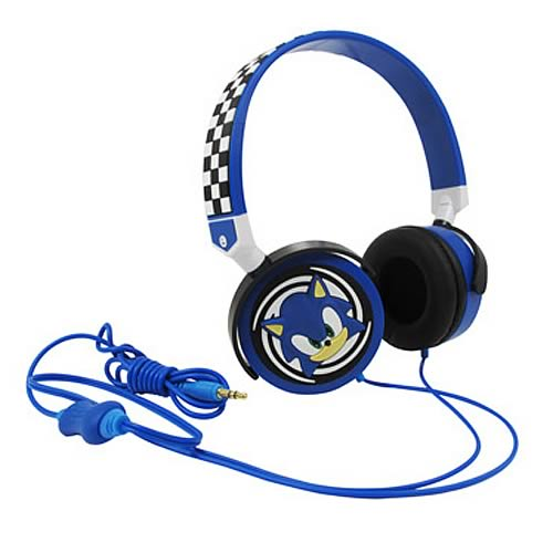 Sonic The Hedgehog Electronic Headphones