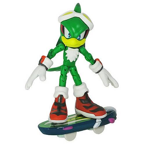 Sonic Free Riders Jet Action Figure