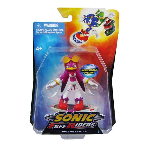 Sonic Free Riders Wave Action Figure