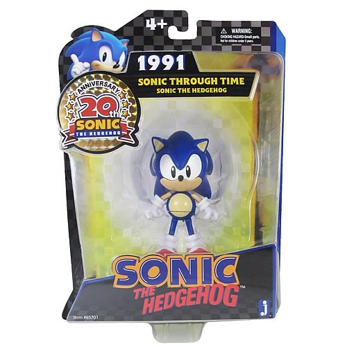 Sonic the Hedgehog Sonic Through Time 20th Ann. Figure