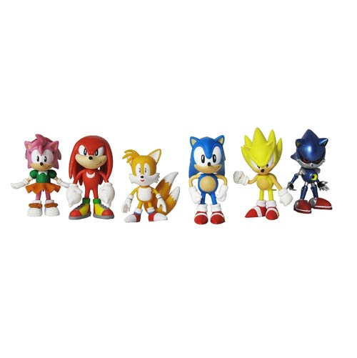 Sonic the Hedgehog Classic 2-Inch Mini-Figure 6-Pack