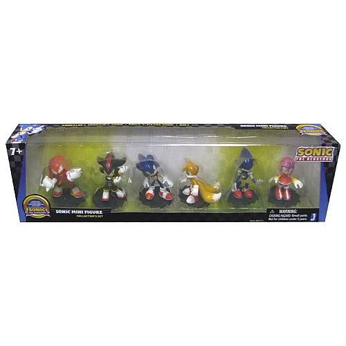 Sonic the Hedgehog Modern 2-Inch Mini-Figure 6-Pack