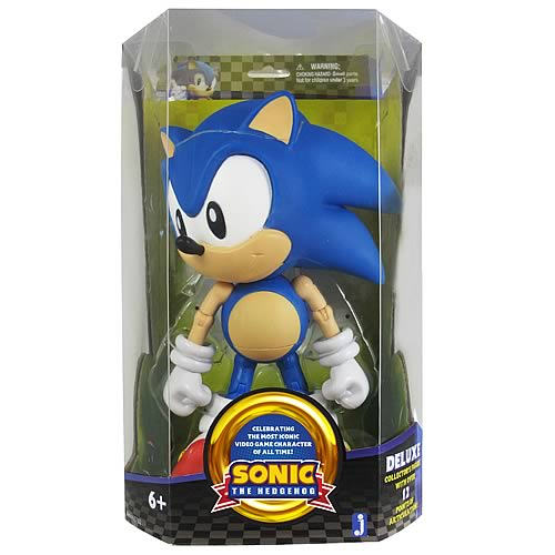 Sonic the Hedgehog 20th Anniv. 10-Inch Classic Sonic Figure