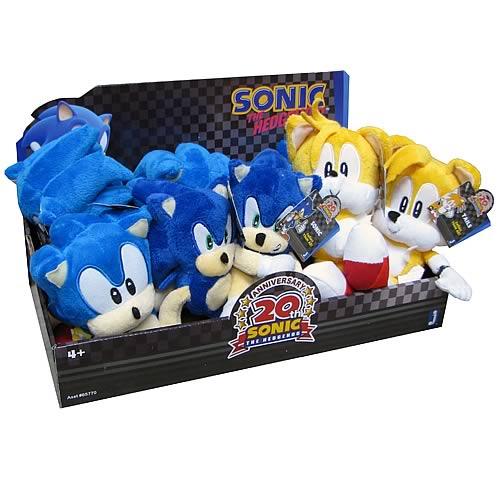 Sonic the Hedgehog 20th Anniversary Classic Plush Case