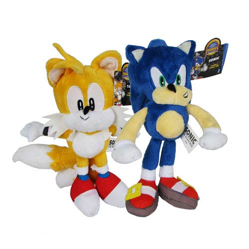 Sonic the Hedgehog 20th Ann. 12-Inch Plush Set