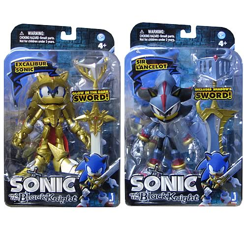 Sonic the Hedgehog Metallic Series 5-Inch Figures Case