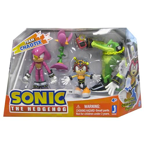 Sonic the Hedgehog Team Chaotix Action Figure 3-Pack