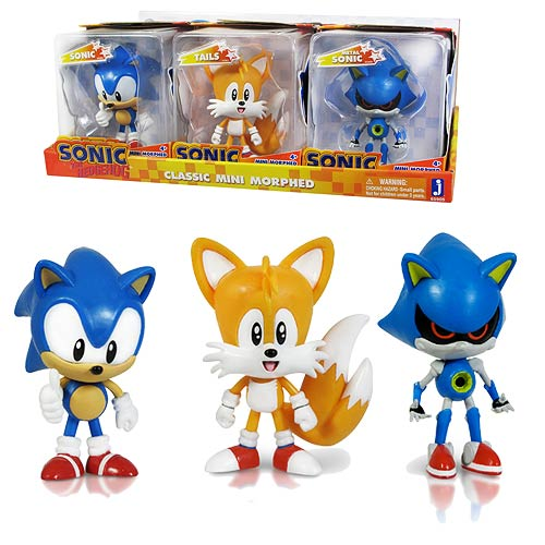 Sonic the Hedgehog 2 3/4-Inch Mini-Morphed Figure Set