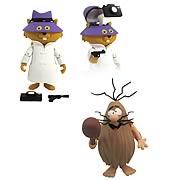 Hanna-Barbera Captain Caveman & Secret Squirrel Figures Set