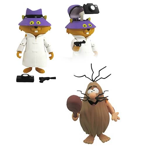 Hanna-Barbera Captain Caveman & Secret Squirrel Figures Set