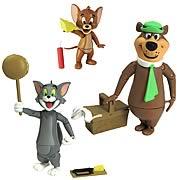 Hanna-Barbera Tom & Jerry and Yogi Bear Action Figures Set