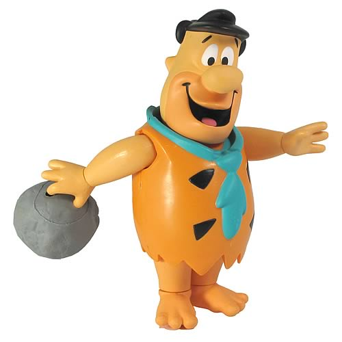 The Flintstones 6-Inch Bowling Fred Flintstone Action Figure