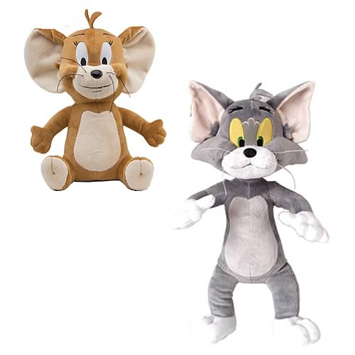 Tom and Jerry 7-Inch Plush Set