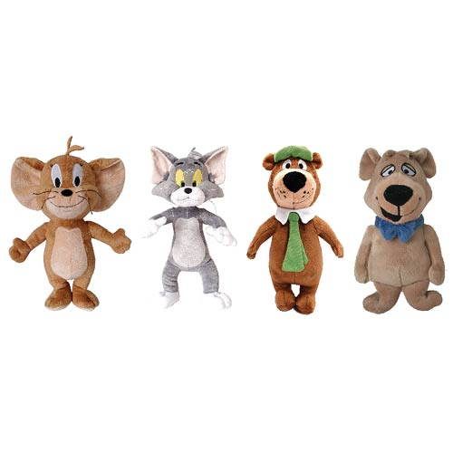 Hanna-Barbera 7-Inch Deluxe Plush Set