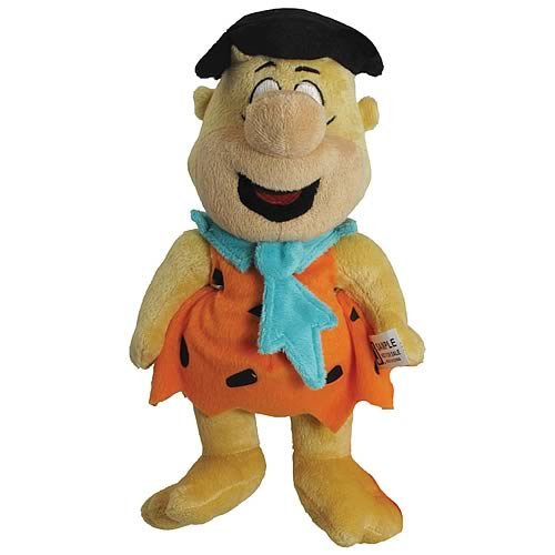 The Flintstones 12-Inch Talking Pullstring Fred Plush
