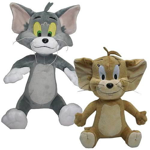 Tom and Jerry Deluxe 12-Inch Plush Box Set
