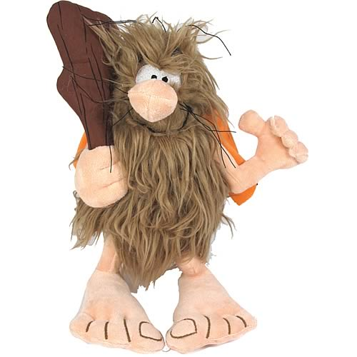 Captain Caveman Deluxe 10-Inch Plush