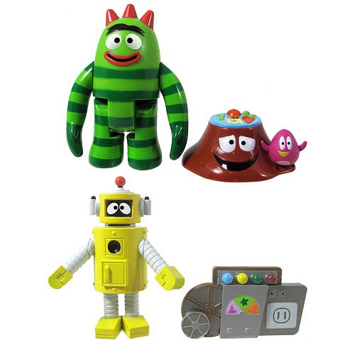 Yo Gabba Gabba 3-Inch Action Figure with Accessory Case