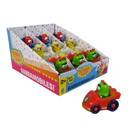 Yo Gabba Gabba 4-Inch Vehicle Set