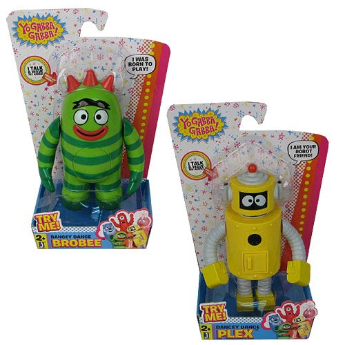 Yo Gabba Gabba 6-Inch Action Figure with Music Set