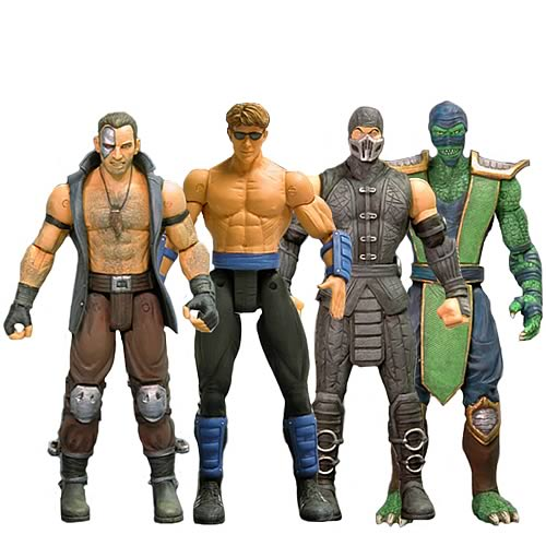 Mortal Kombat Series 3 Action Figure Set