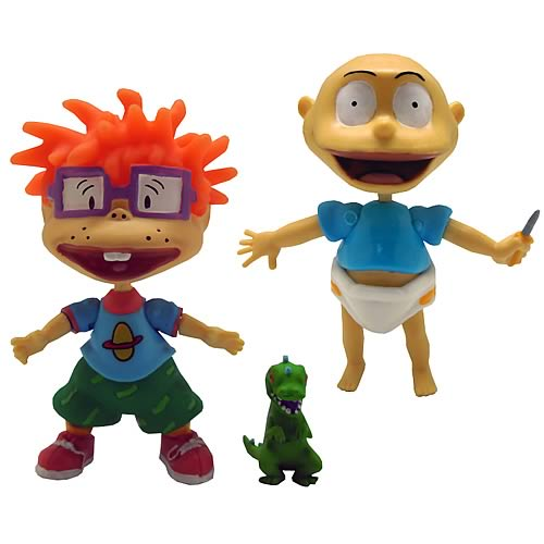Rugrats 3-Inch Action Figure with Accessories Figure Set