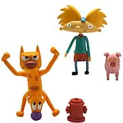 Nicktoons 3-Inch Action Figure w/ Accessories 2-Pack