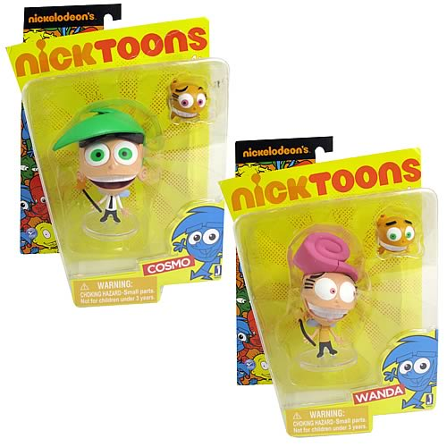 The Fairly OddParents Action Figure w/ Accessories 2-Pack