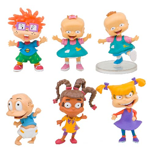 Rugrats 2-Inch Deluxe Nicktoons Collector Mini-Figure 6-Pack