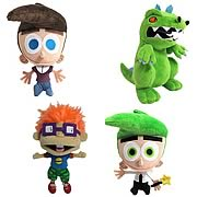 Nicktoons Classic Character Plush Case