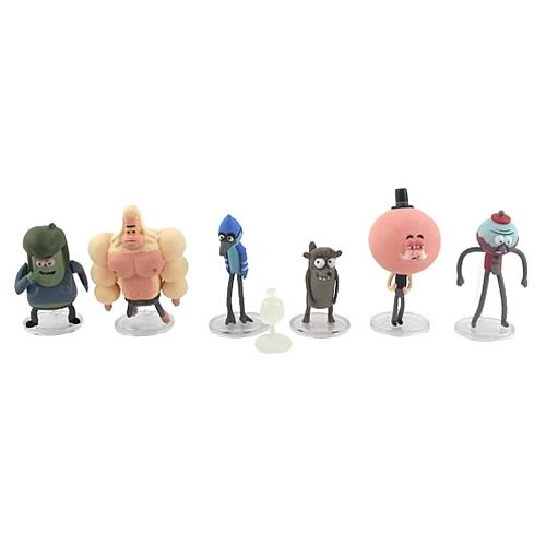 Regular Show 2-Inch Action Figure 6-Pack Case