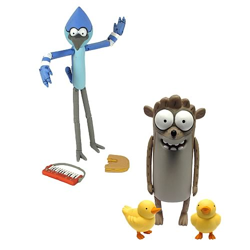 Regular Show 6-Inch Action Figure Case
