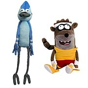 Regular Show Deluxe Talking Plush with Pullstring Case